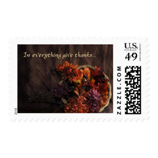 In everything give thanks postage