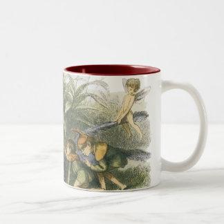 In Fairyland 1870, by Richard Doyle Two-Tone Coffee Mug