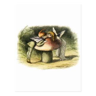 In Fairyland A Fairy Kiss by Richard Doyle Postcard