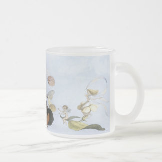 In Fairyland: The Fairy Queeen, by Richard Doyle 10 Oz Frosted Glass Coffee Mug