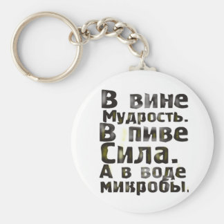 In fault wisdom. In beer force. And in water micro Keychain