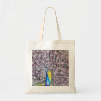 In Fine Feather Peacock Mating Plumage Tote Bag