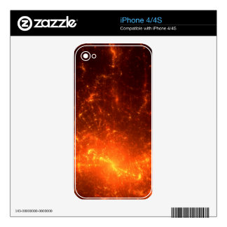 In Fire Decals For The iPhone 4