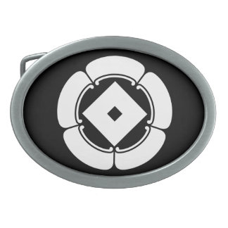In five melons nail claw oval belt buckle