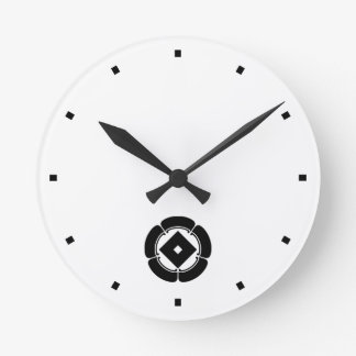 In five melons nail claw round clock