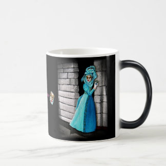 """In flagrante"" (black) Magic Mug"