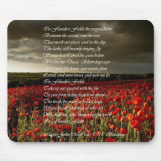 In Flanders Fields Mouse Pad