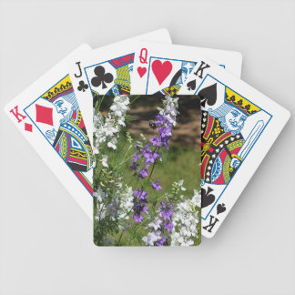 In Flight Bicycle Playing Cards