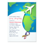 In Flight Going-Away Party Invitation