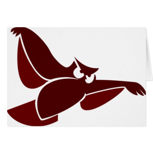 In Flight Owl Card