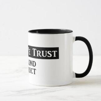 """""""In Fog We Trust"""" - Ringer Mug B&W"""