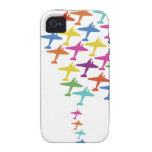 In Formation Airplane Balloon Flight Aviation iPhone 4/4S Covers