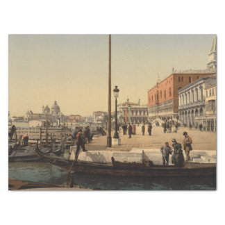 "In Front of Doge's Palace, Venice, Italy 15"" X 20"" Tissue Paper"