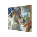 In Front of the Mirror, 1889 Gallery Wrapped Canvas