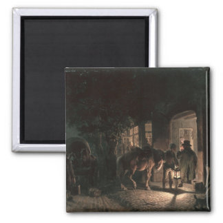 In front of the Pub, 1843 Magnet