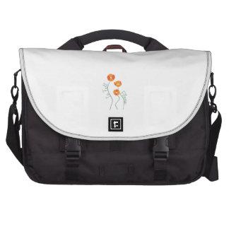 In Full Bloom Laptop Messenger Bag