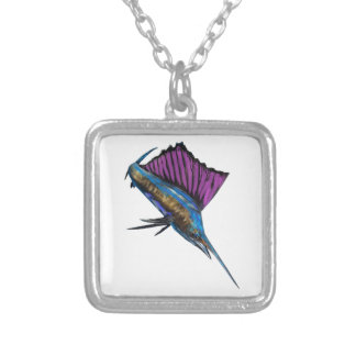 IN FULL PURSUIT SILVER PLATED NECKLACE