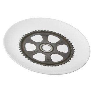 In Gear Dinnerplate Plate