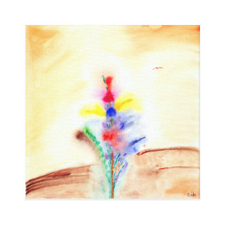 In Gesture Stretched Canvas Prints