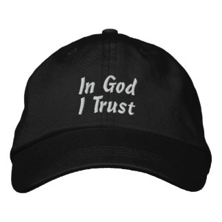 In God I Trust Cap Embroidered Baseball Cap