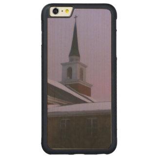 In God I trust Carved® Maple iPhone 6 Plus Bumper