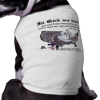 IN GOD WE TRUST - 2 Chronicles 7:14 Doggie Shirt