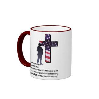 IN GOD WE TRUST - 2 Chronicles 7:14 Ringer Mug