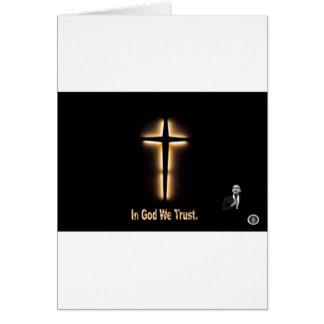 In God We Trust - Barack Obama Card