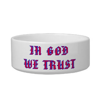 In God We Trust Bowl