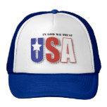 In God We Trust cap Trucker Hat