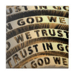 In God We Trust Ceramic Tile