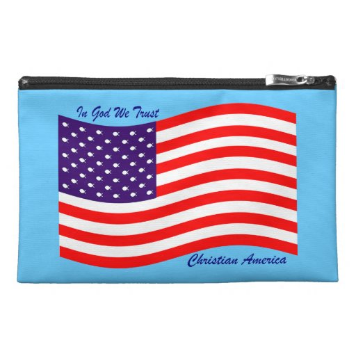 In God We Trust ~ Christian America Travel Accessories Bags