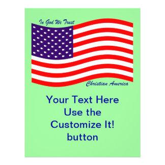 In God We Trust ~ Christian America Flyer