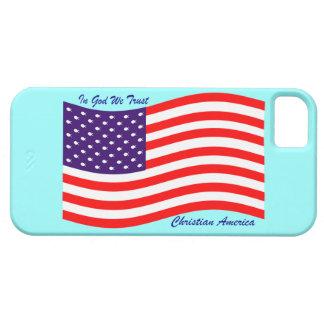 In God We Trust ~ Christian America iPhone 5 Cover