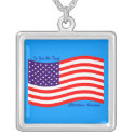 In God We Trust ~ Christian America Necklaces