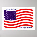 In God We Trust ~ Christian America Poster