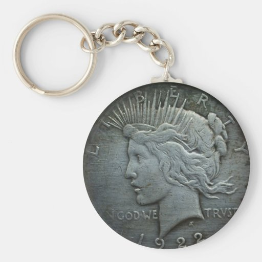 In GOD we trust - Coin of 1922 Keychains