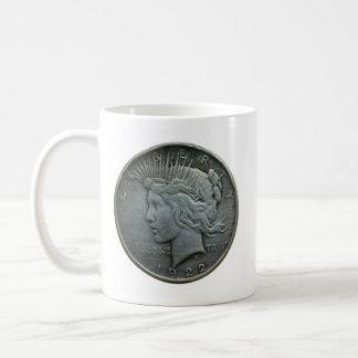 In GOD we trust - Coin of 1922 Classic White Coffee Mug