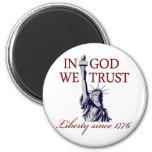 In God We Trust Fridge Magnets