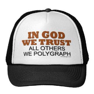 In God We Trust Funny Saying Trucker Hat