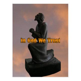 In God We Trust (hansen) Postcard