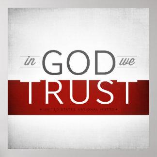 In God We Trust I Print