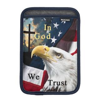 In God We Trust iPad Mini Sleeve