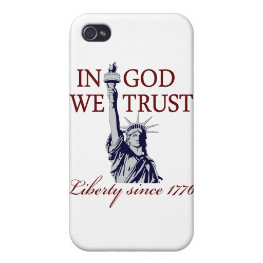 In God We Trust iPhone 4/4S Covers