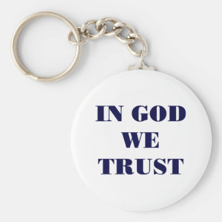 In God We Trust Keychain