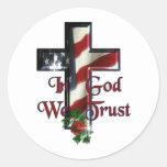 """In God We Trust"" Logo 3"" Sticker"