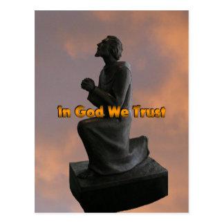 In God We Trust (november) Postcard