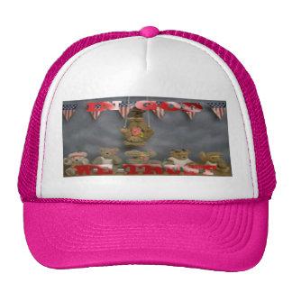 In God We Trust Patriotic Bears Hat