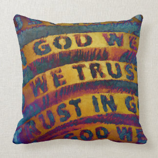In God We Trust Pillows