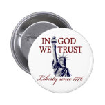 In God We Trust Pinback Button